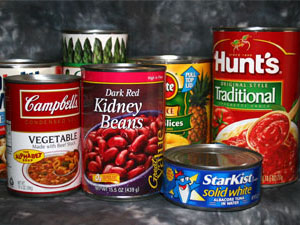 provision store canned food portfolio